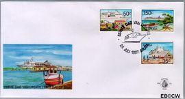 Aruba AR E70  1997 Cruises  cent  FDC zonder adres