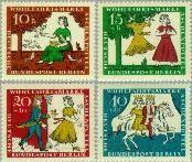 Berlin ber 266#269  1965 Spookjes Gebr. Grimm  Postfris