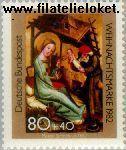 Bundesrepublik BRD 1161#  1982 Kerstmis  Postfris