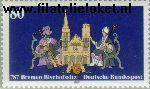 Bundesrepublik BRD 1329#  1987 Bisdom Bremen  Postfris