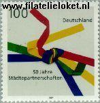 Bundesrepublik BRD 1917#  1997 Stedenpartners  Postfris