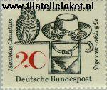 Bundesrepublik BRD 462#  1965 Claudius, Matthias  Postfris