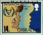 Gibraltar gib 429#  1981 Int. Jaar van de Gehandicapten  Postfris