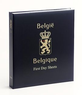 Luxe postzegelalbum Belgie First Day Sheets