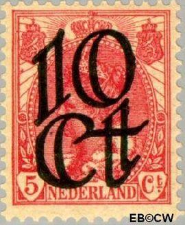 Nederland NL 117  1923 Opruimingsuitgifte 10#5 cent  Postfris