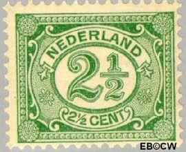 Nederland NL 55  1899 Cijfer type 'Vürtheim' 2½ cent  Postfris