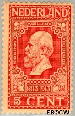 Nederland NL 92  1913 Onafhankelijkheid 5 cent  Postfris