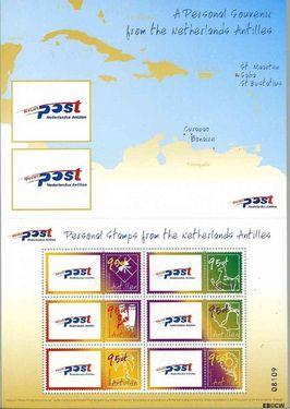 Nederlandse Antillen NA 1458  2003 Persoonlijke postzegels 145 cent  Postfris