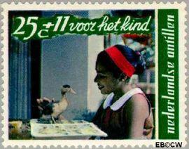 Nederlandse Antillen NA 403  1968 Kind en dier 30 cent  Postfris