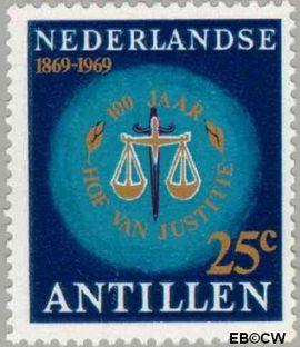 Nederlandse Antillen NA 409  1969 Hof van Justitie 55 cent  Postfris