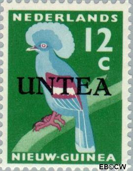 West-Nieuw-Guinea NG WNG13  1962 UNTEA opdruk 12 cent  Gestempeld