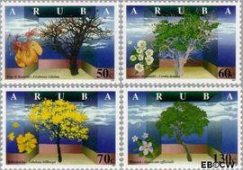Aruba AR 200#203  1997 Bomen  cent  Postfris