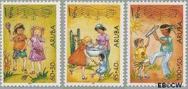 Aruba AR 324#326  2004 Kinderzegels  cent  Postfris