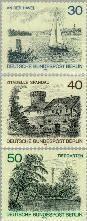 Berlin ber 529#531  1976 Stadsgezichten  Postfris