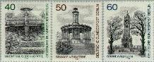 Berlin ber 634#636  1980 Stadsgezichten  Postfris