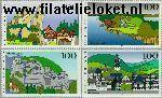 Bundesrepublik BRD 1807#1810  1995 Beelden uit Duitsland  Postfris