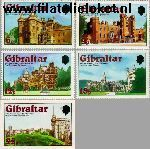 Gibraltar gib 373#375  1978 Koningin Elizabeth-  Kroningsjubileum  Postfris