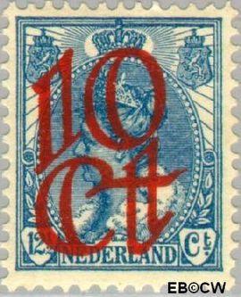 Nederland NL 118  1923 Opruimingsuitgifte 10#12½ cent  Postfris