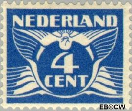 Nederland NL 148  1924 Vliegende Duif 4 cent  Postfris