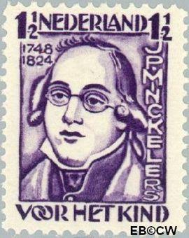 Nederland NL 220  1928 Minckelers, J.P. 1½+1 cent  Postfris