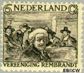 Nederland NL 230  1930 Vereniging Rembrandt 6+5 cent  Postfris