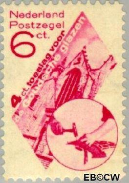 Nederland NL 239  1931 Goudse Glazen 6+4 cent  Postfris