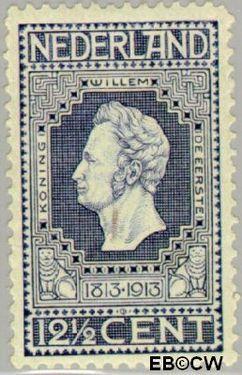 Nederland NL 94  1913 Onafhankelijkheid 12½ cent  Postfris
