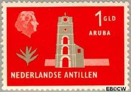 Nederlandse Antillen NA 287  1958 Landschappen 20+10 cent  Postfris