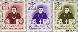 Nederlandse Antillen NA 311#313  1960 Sterfdag Niewindt 6 cent  Postfris