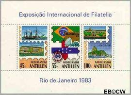Nederlandse Antillen NA 746  1983 Brasiliana '83 25 cent  Postfris