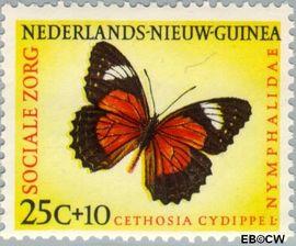 Nieuw-Guinea NG 65  1960 Sociale zorg 25+10 cent  Gestempeld