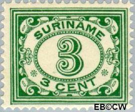 Suriname SU 75  1913 Drukwerkzegel 3 cent  Gestempeld