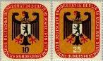 Berlin ber 136#137  1956 Zitting Bondsdag in Berlijn  Postfris