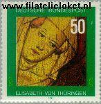 Bundesrepublik BRD 1114#  1981 Thüringen, Elisabeth von  Postfris