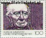 Bundesrepublik BRD 1510#  1991 Windthorst, Ludwig  Postfris