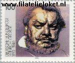 Bundesrepublik BRD 1689#  1993 George, Heinrich  Postfris