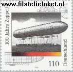 Bundesrepublik BRD 2128#  2000 Zeppelin  Postfris