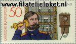 Bundesrepublik BRD 947#  1977 Telefoon  Postfris