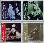 Gibraltar gib 951#954  2001 Koningin Victoria  Postfris