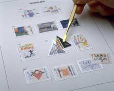 Luxe inhoud postzegelalbum  Belgie 20e eeuw 1999-2002