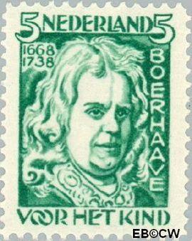 Nederland NL 221  1928 Boerhaave, H. 5+3 cent  Postfris