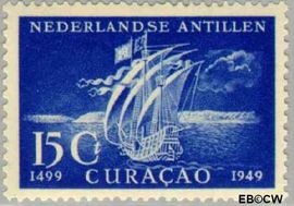 Nederlandse Antillen NA 208  1949 Ontdekking  cent  Postfris
