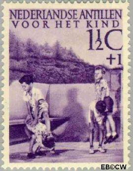 Nederlandse Antillen NA 234  1951 Kinderspelen  cent  Postfris