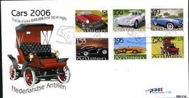 Nederlandse Antillen NA E382  2006 Auto's  cent  FDC zonder adres