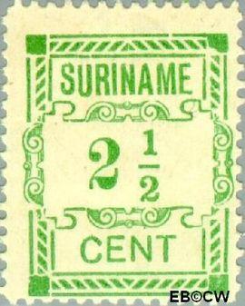 Suriname SU 66  1912 Hulpuitgifte 2½ cent  Gestempeld