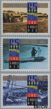 Aruba AR 444#446  2010 Einde Tweede wereldoorlog  cent  Postfris