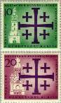 Berlin ber 215#216  1961 Evangelische Kerkendag  Postfris