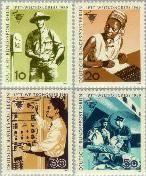 Berlin ber 342#345  1969 Wereldcongres ITPP  Postfris