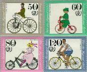 Berlin ber 735#738  1985 Fietsen  Postfris