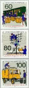 Berlin ber 876#878  1990 Geschiedenis van de post en telecommunicatie  Postfris